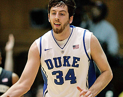 "Ryan Kelly scores 22 points for Duke. ""He was on his way to a 35-point or 40-point game,"" Duke coach Mike Krzyzewski said (US Presswire)"