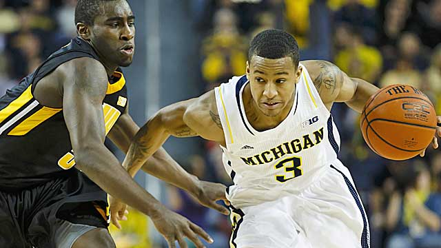 Burke has been the catalyst for a Michigan team with Final Four hopes. (US Presswire)