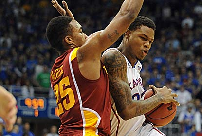 Freshman Ben McLemore, who scores a career-high 33 points, is 6 for 6 from 3-point range, including one to force overtime. (US Presswire)