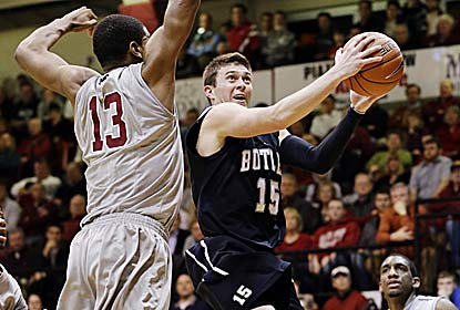 Rotnei Clarke scores 28 points, including six 3-pointers in Butler's first A-10 game after bolting the Horizon League. (AP)