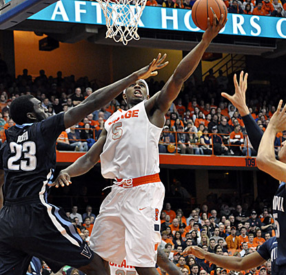 Freshman forward C.J. Fair plays better than fair, scoring a game-high 22 points and grabbing five rebounds. (AP)