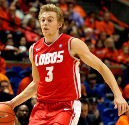 Hugh Greenwood scores 15 points, including the game-tying layup with 54 seconds left in regulation.  (US Presswire)