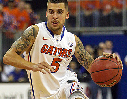 Guard Scottie Wilbekin logs his first career triple-double for the Gators in their latest lopsided victory. (US Presswire)
