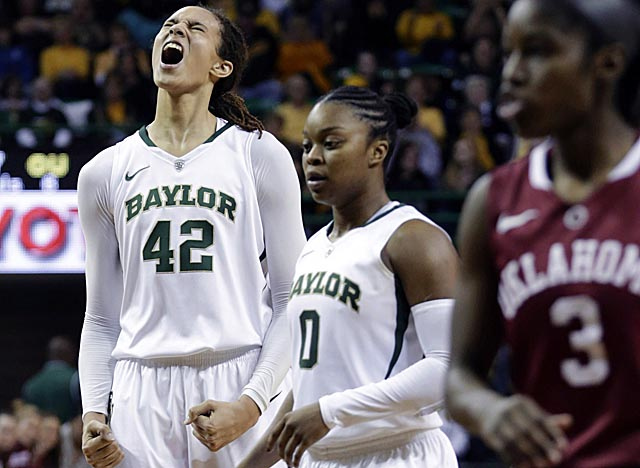 A two-time All-American, Griner on Saturday adds the blocks mark to her record 11 dunks. (AP)