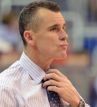 It was a relatively easy night for Billy Donovan and his Gators who, at one point, led by 40 points early in the second half. (AP)