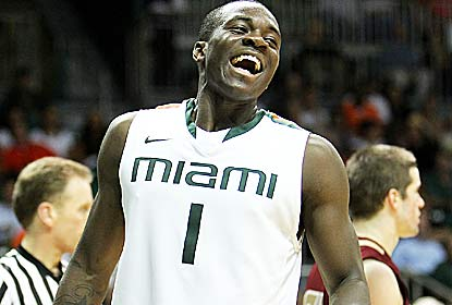 Enjoying their highest ranking since 1960, Durand Scott and Miami hold an ACC foe to 50 points or fewer for the fourth time. (Getty Images)