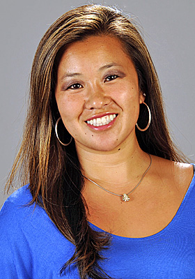 Monica Quan and her fiance Keith Lawrence were found shot to death in their car. (AP)