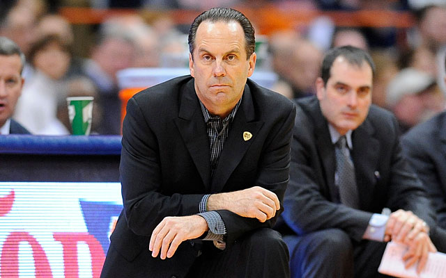 Mike Brey's Fighting Irish will play at least one more season in the Big East before joining the ACC. (US Presswire)