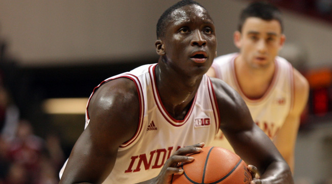 Indiana's Victor Oladipo is scoring 13.8 points per game. (US Presswire)