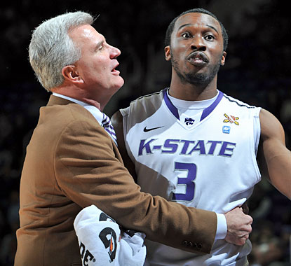 Bruce Weber becomes the only first-year coach at Kansas State to reach 12 Big 12 wins. (Getty Images)