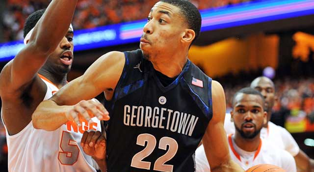 Georgetown's Otto Porter scored 33 points vs. Syracuse on Saturday. (USATSI)