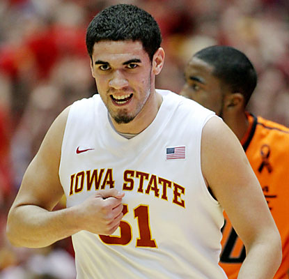 Georges Niang (18 points) is one of five Cyclones to reach double figures against the Cowboys. (AP)