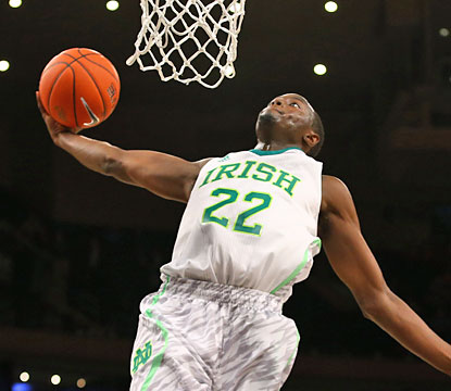 Notre Dame guard Jerian Grant finishes with 11 points along with five assists and four boards. (Getty Images)