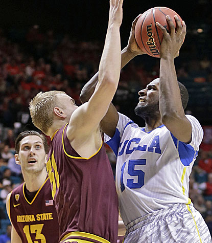 Shabazz Muhammad scores 12 of his 16 points in the second half to help slow-starting UCLA get past Arizona State. (AP)