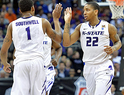 Rodney McGruder scores 24 points and sparks an 11-0 run in the second half for Kansas State (Getty Images)