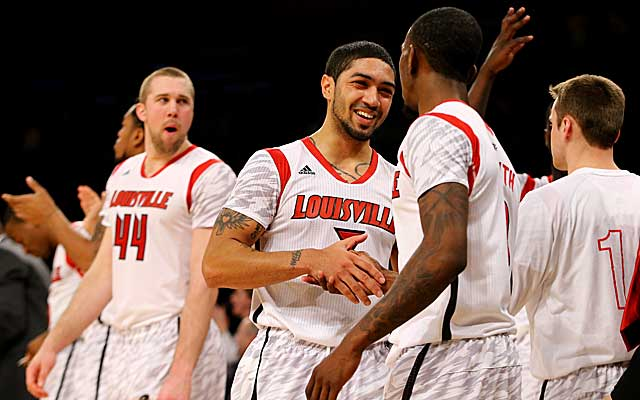 Louisville has a date with Syracuse for the Big East title, and possibly a No. 1 seed. (Getty)