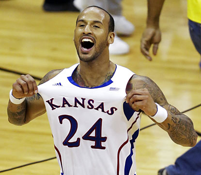 Travis Releford's Jayhawks get the job done once again in the Big 12 tournament championship. (AP)