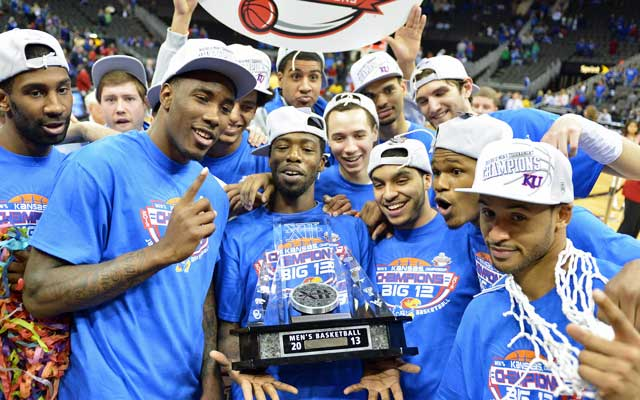 Kansas isn't a slam dunk, but they have as good a shot as any team to win it all. (USATSI)