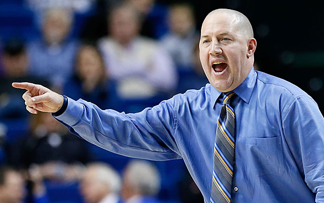 Buzz Williams will lead his Marquette team against Butler on Saturday night. (Getty Images)