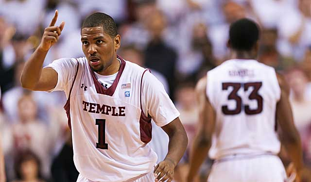 Temple's hopes vs. IU may ride on Khalif Wyatt's hand. (USATSI)