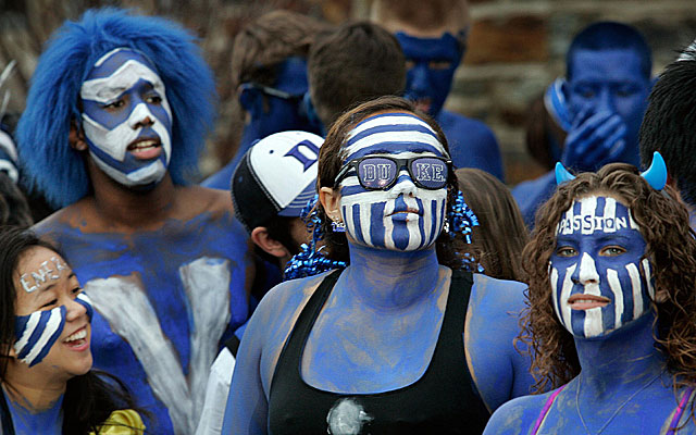 How crazy will Duke fans get against Michigan State? (USATSI)