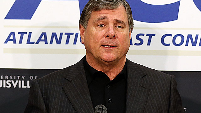 Tom Jurich found a hot mess at Louisville when he arrived from Colorado State in 2007. (Getty Images)