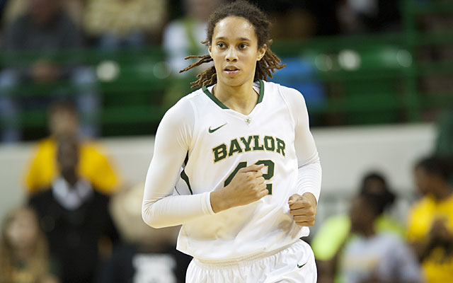 Likely No. 1 overall pick Brittney Griner says she is committed to playing in the WNBA this summer. (Getty Images)