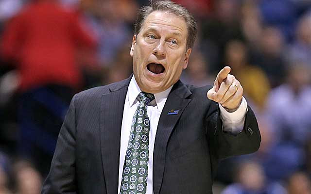Tom Izzo's Spartans look like one of the elite teams entering next season. (Getty Images)