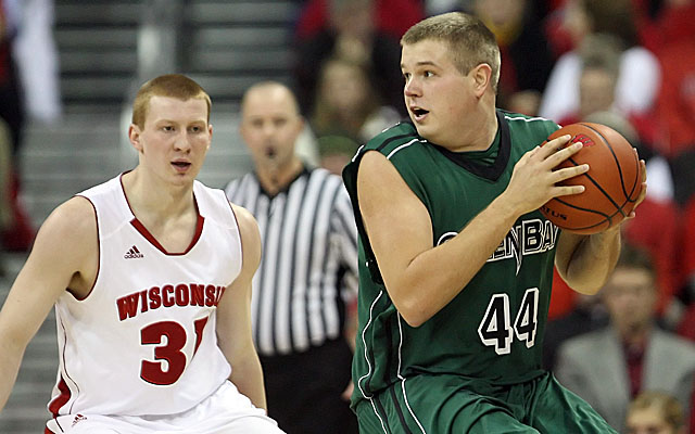 Senior Brennan Cougill (right) is among the players UWGB's coach is said to have bullied. (USATSI)
