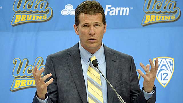 Steve Alford, with just one Sweet 16 appearance in 18 seasons, takes over at UCLA. (USATSI)