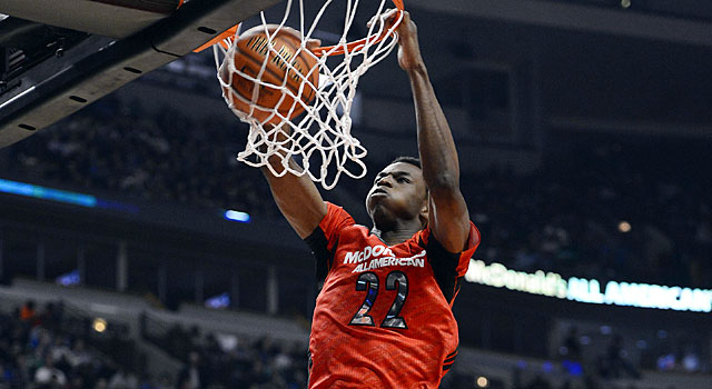 Andrew Wiggins, the No. 1 player in the class of 2013, is heading to Kansas. (USATSI)