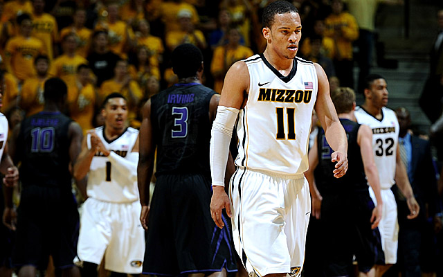 Suspended by the Tigers, Michael Dixon left Missouri in November after sex assault claims went public.  (USATSI)