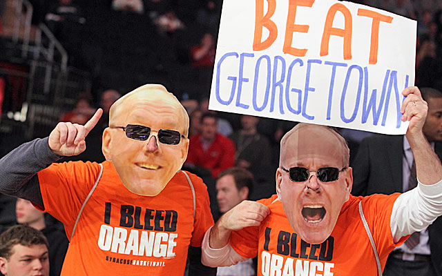 Syracuse fans will be happy to know that the Georgetown rivalry series likely will return. (USATSI)