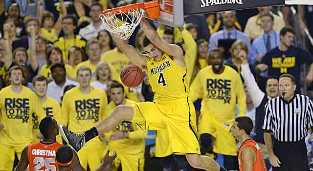 Mitch McGary will be one of two projected lottery picks on the floor at Crisler. (USATSI)
