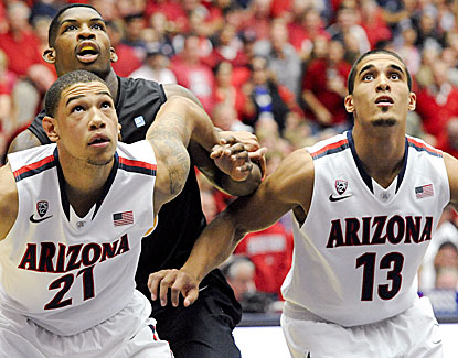 Arizona is strong on the boards, outrebounding Long Beach State 44-28 in a 91-57 victory. (USATSI)