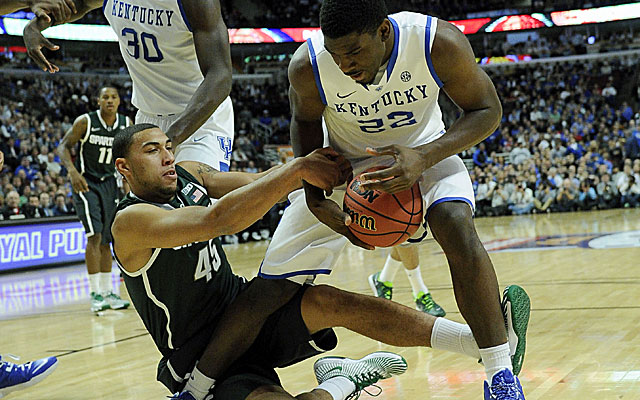 Michigan State comes away with the tight win, but young Kentucky shows plenty of poise and determination. (USATSI)