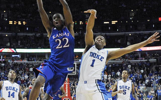 Andrew Wiggins (left) and Jabari Parker put on a memorable show, and they're only going to get better.