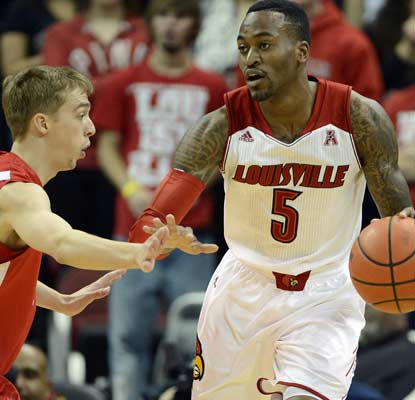 Kevin Ware plays his first game that counts since suffering a gruesome injury in last season's Midwest Regional final.  (USATSI)