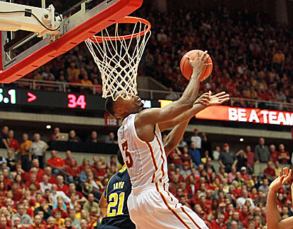Melvin Ejim scores a game-high 22 points to help guide Iowa State to a 77-70 home win over No. 7 Michigan. (USATSI)