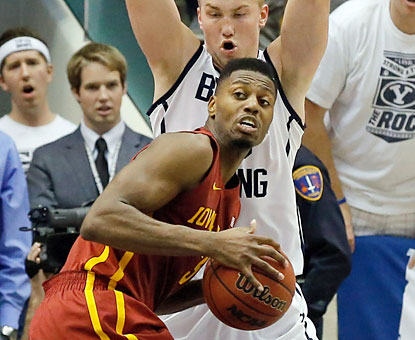 Melvin Ejim, one of four Cyclones to reach double figures, matches a team high with 21 points.  (USATSI)