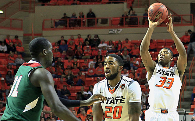 Whether he's playing at Oklahoma State or the NBA, Marcus Smart is a budding star. (USATSI)