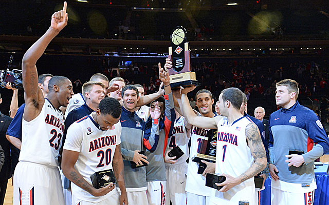 Arizona uses its scoring balance and versatility to beat Duke for the NIT title. (USATSI)