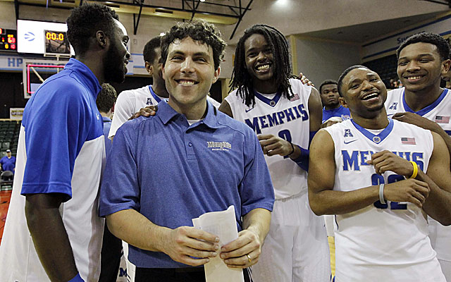 Josh Pastner and the Memphis Tigers avenge a loss to Oklahoma State with a 73-68 win Sunday. (USATSI)