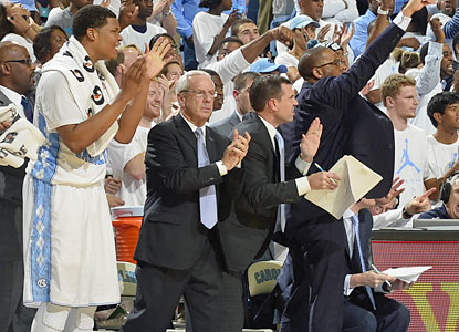 Roy Williams' Tar Heels get the job done with a marquee win against another Top 25 opponent. (USATSI)