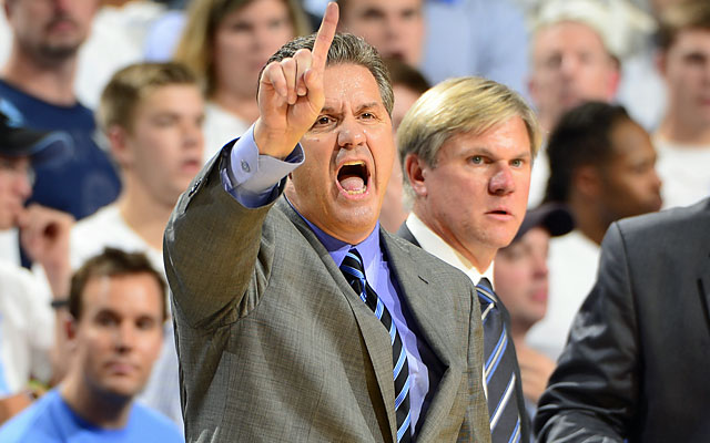 'Calipari: 'We are what we are right now. Got a long way to go.' (USATSI)