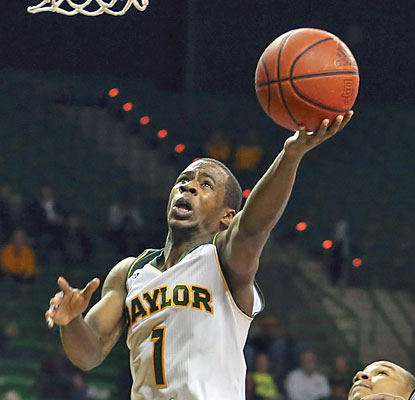 Baylor gets a boost from Kenny Chery, who delivers in overtime with 12 of his 20 points. (USATSI)