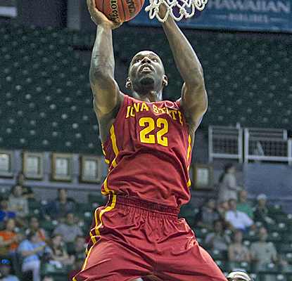 No. 17 Iowa State struggles offensively, but still manages to hold off George Mason to remain undefeated.  (USATSI)