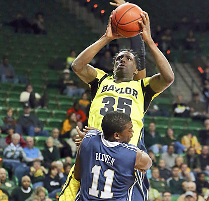 Taurean Prince leads a first-half spurt for the Bears, who go on a 13-2 run to help run away from the Golden Eagles. (USATSI)