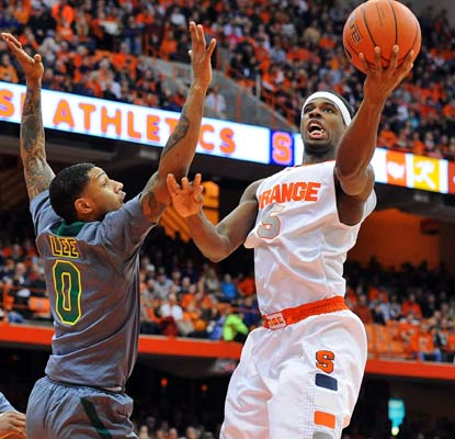 C.J. Fair contributes 13 points and eight rebounds in the Orange's final nonconference game of the regular season.  (USATSI)