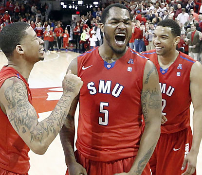Southern Methodist enjoys beating UConn -- its first victory over a ranked opponent since December 2003. (USATSI)